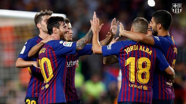 FC Barcelona games 2019-2020