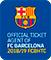 権限のある FC バルセロナのチケット エージェント